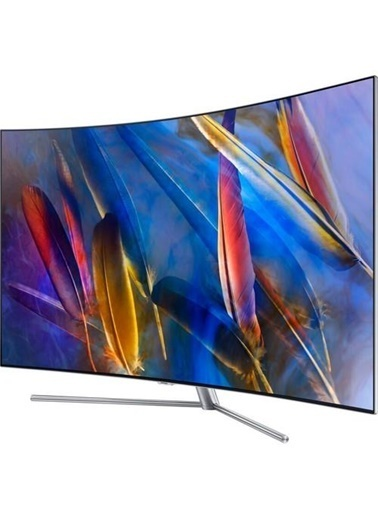 """Samsung Qe55Q7Camtxtk 55"""" Q7C 4K Curved Smart Qled Tv Renkli"""